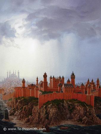 A Fortaleza Vermelha na Cidade do Rei